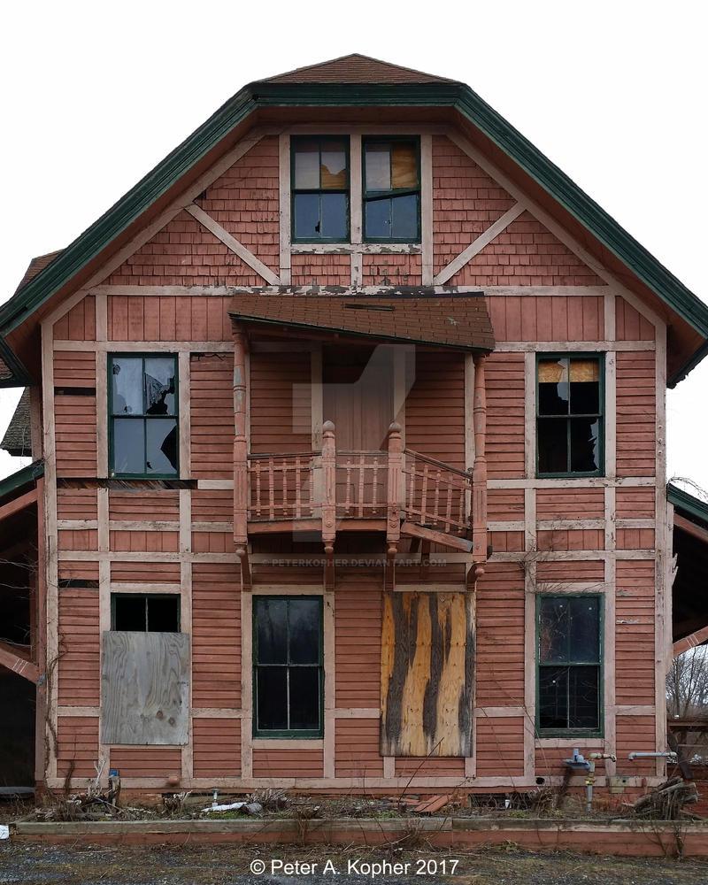 Eight Windows and a Door  by peterkopher