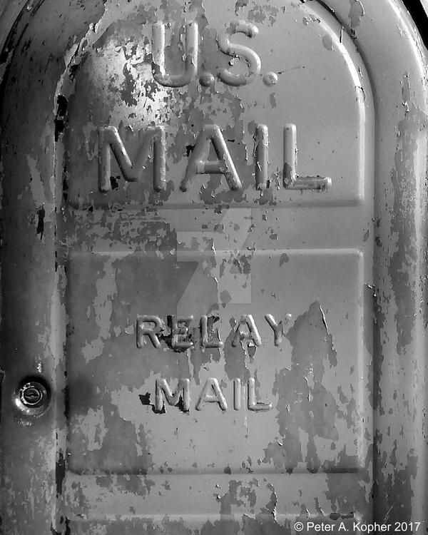 U.S. Mail b+w by peterkopher