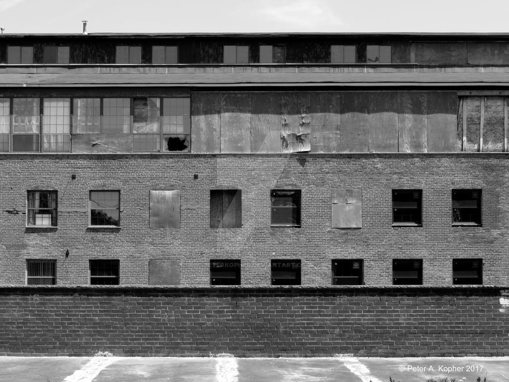Thirty and a Half Windows B+W by peterkopher