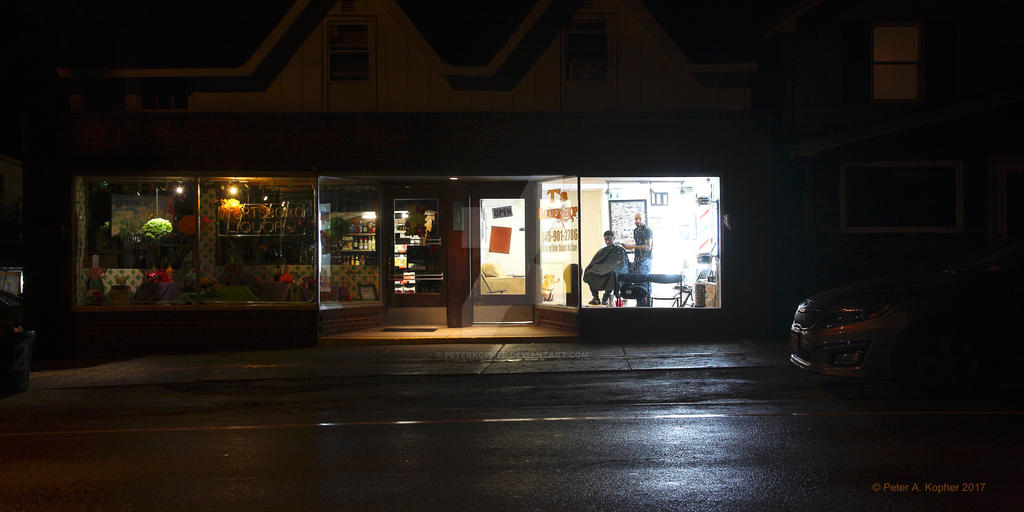 T's Barbershop   by peterkopher