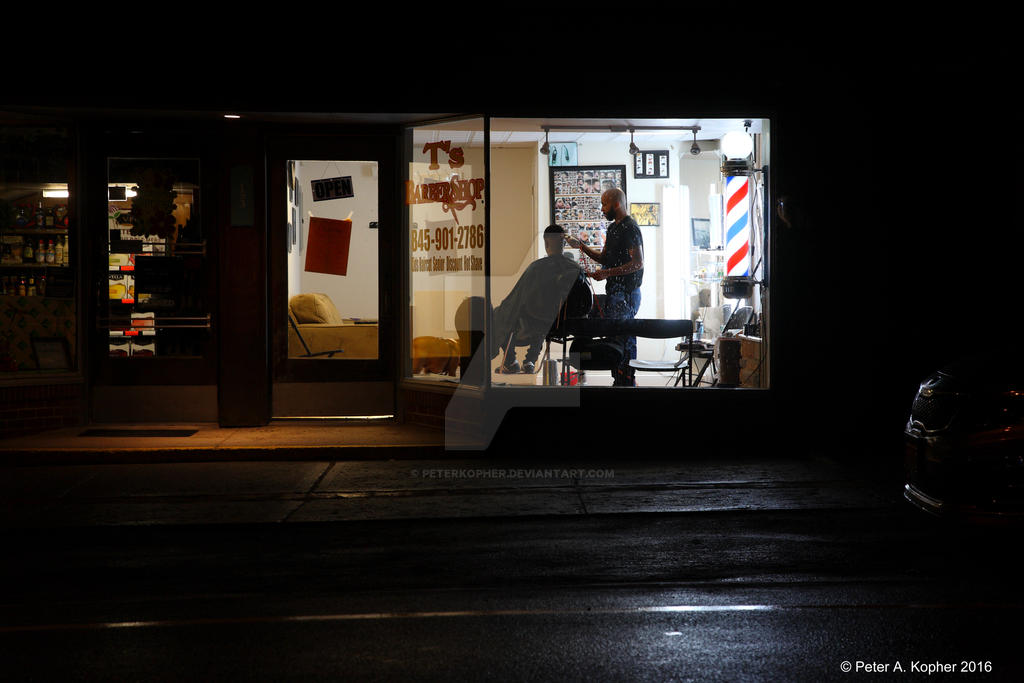 Late Night Haircut  by peterkopher