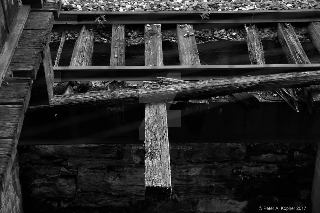 On Tracks b+w  by peterkopher