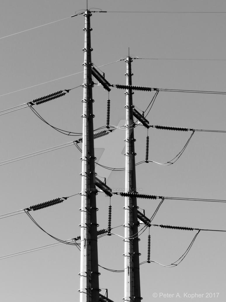 Transmission #1 b+w by peterkopher