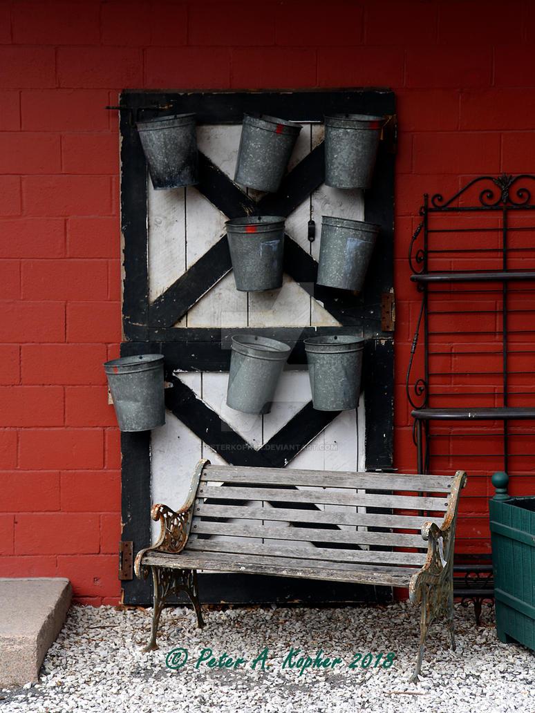 Galvanized Buckets  by peterkopher