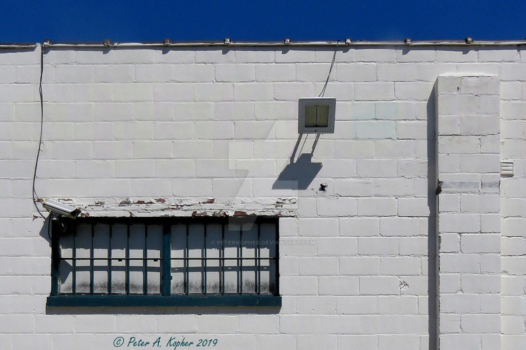 White Washed Wall 1 by peterkopher