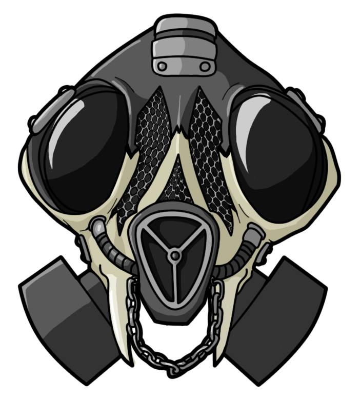 Skull Gas Mask Drawings Skull Gas Mask