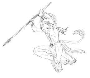 Satyr Warrior