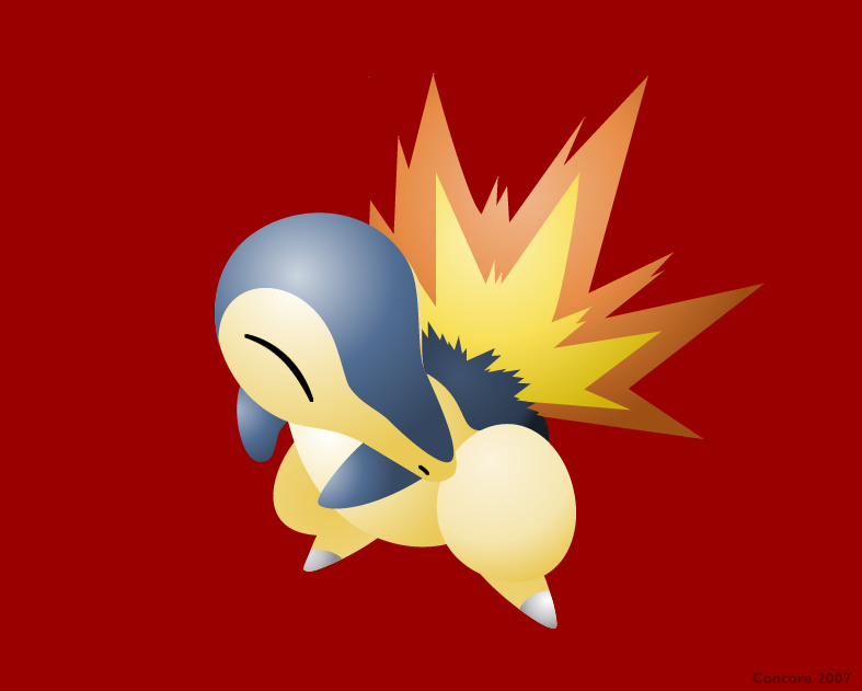 Cyndaquil By Concore On DeviantArt