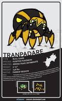 Tranpadare - The Hunter Pokemon by Concore
