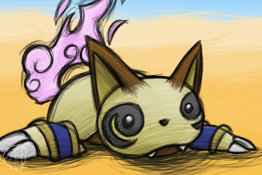 Pokemon Acanthite TCG - Meowmy by Concore