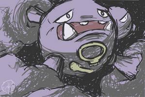 Pokemon Acanthite TCG - Weezing by Concore