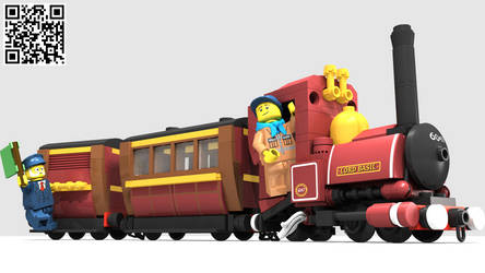 LEGO Cuusoo - Narrow Gauge Steam Engine by Concore