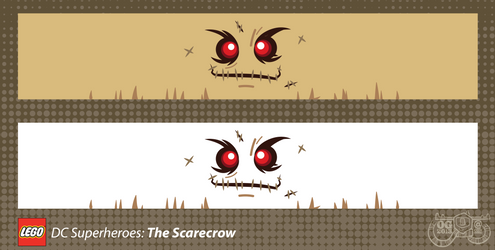 LEGO Minifig Decals - The Scarecrow