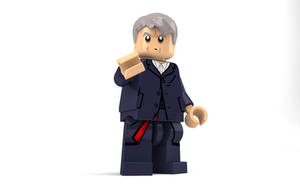 LEGO Peter Capaldi - The Twelfth Doctor by Concore
