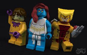 LEGO Brotherhood of Mutants by Concore