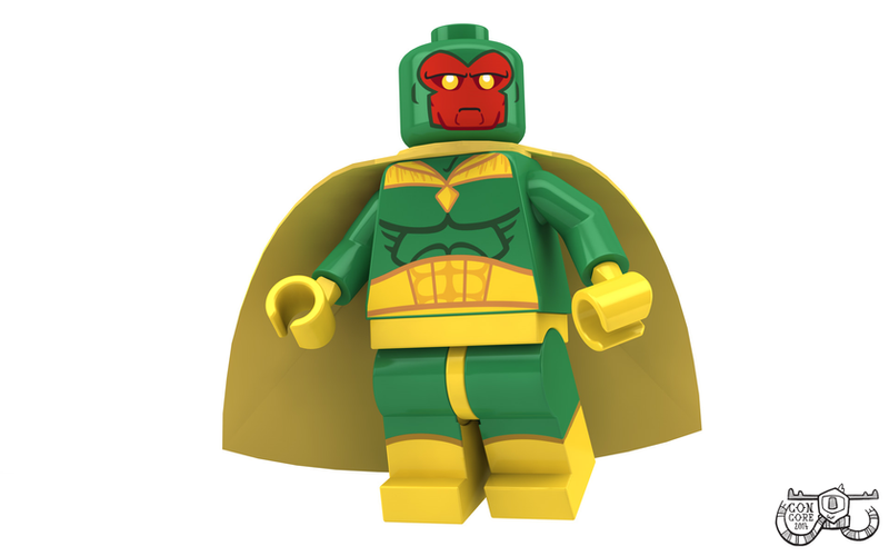 LEGO Minifigure - Vision by Concore on DeviantArt