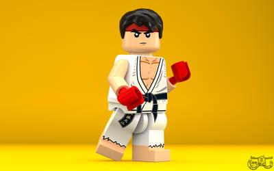 LEGO Smash Bros. - Ryu