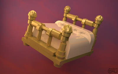 LEGO Bedknobs and Broomsticks Bed