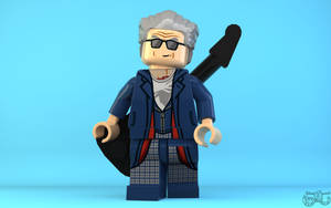 LEGO Doctor Who - The Twelfth Doctor in Hoodie by Concore