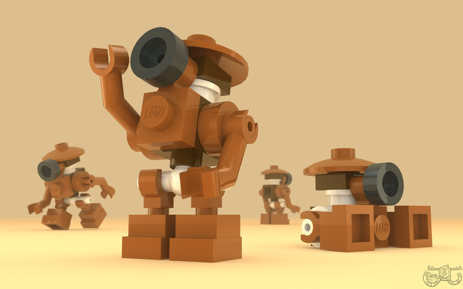 LEGO Star War - Pit Droid by Concore on DeviantArt