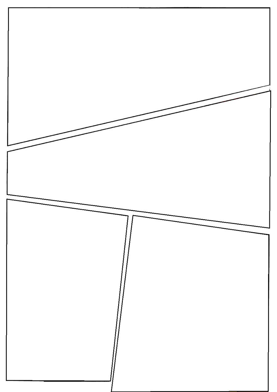 blank comic page 1 by c0nn0rman43 fan art cartoons comics digital