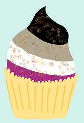 Asexual cupcake