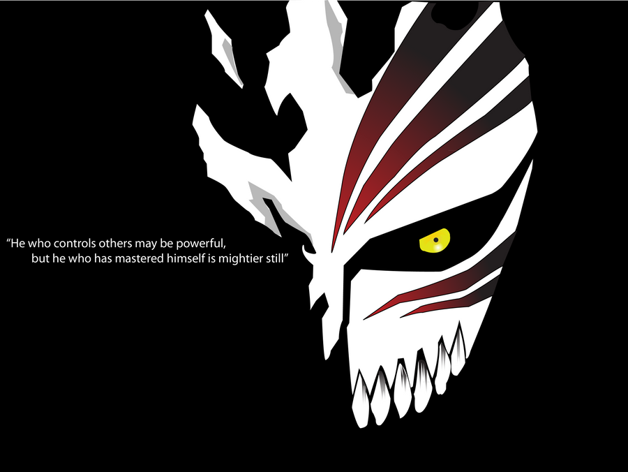 Ichigo Hollow Mask By FredTheLifeguard