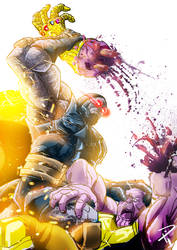 Thanos vs darkseid copy by acir