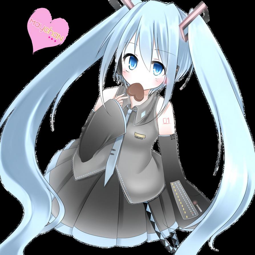 Render Vocaloid Miku Hatsune by MayChan09