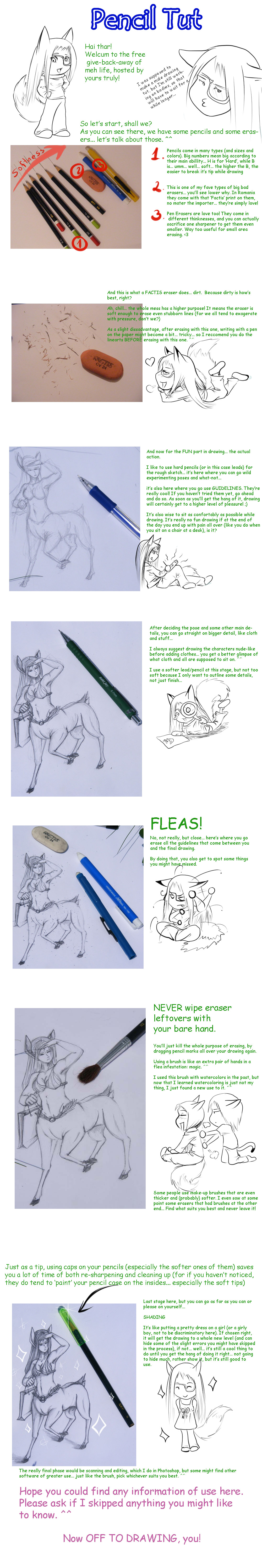 Pencil tutorial by JavaLeen