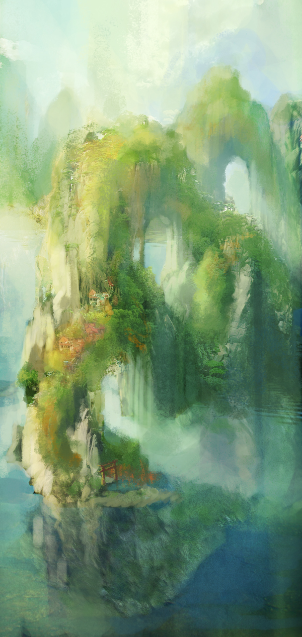 Dragon Village 1 by Milkmom