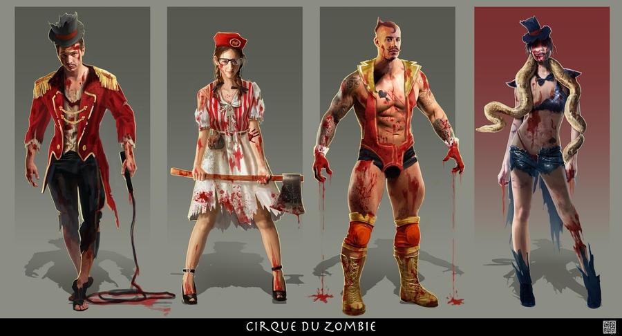 Cirque Du Zombie by Milkmom