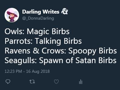 Tweet by DarlingWrites