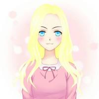 My bestie as anime by mackenziethefox13