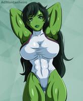 She Hulk by AdMontanheiro