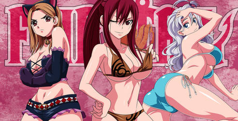 Fairytail girls. What's your favorite? by AdMontanheiro
