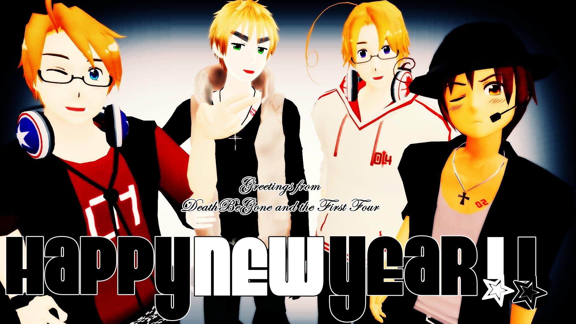 HAPPY NEW YEAAAAAAAAAAAAAAAARR! :D by DeathBeGone