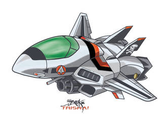 Fighter chibi-tech by jorgebreak