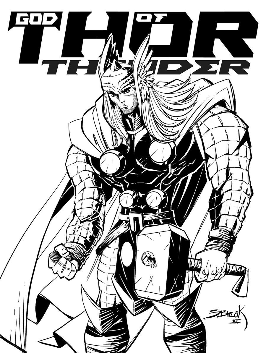 Encantador Maravilla Thor Para Colorear Composición - Ideas ...