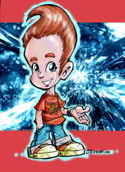 JIMMY NEUTRON FULL COLOR by jorgebreak