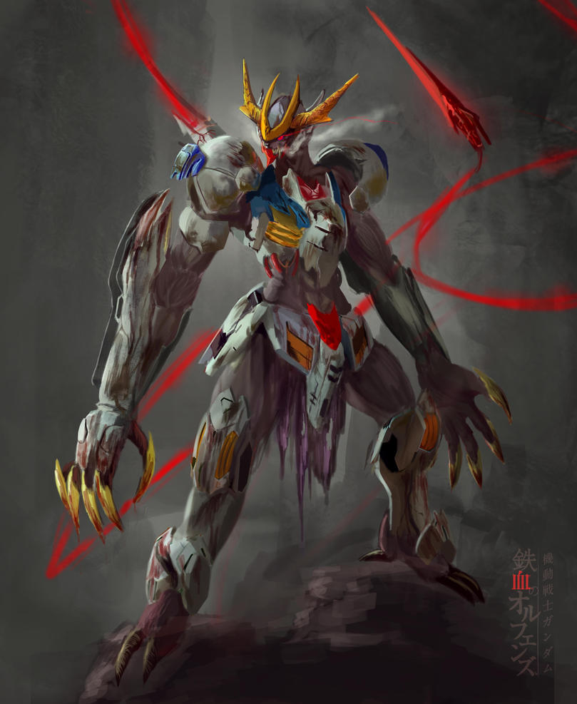 Gundam Barbatos Lupus Rex Wallpaper Wallpaper Liar