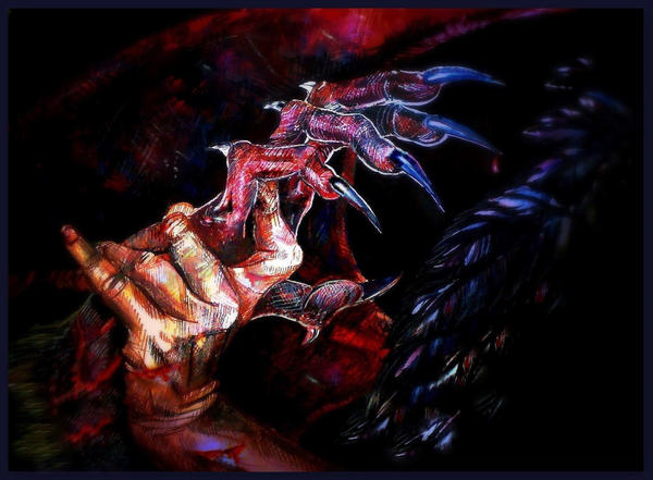 angels and demons battle art - photo #16