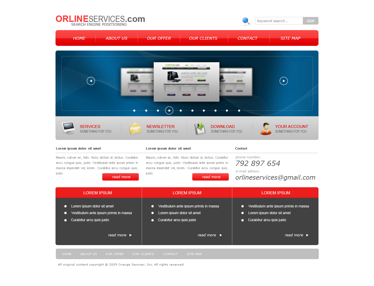 Orline Services by rpawlowski
