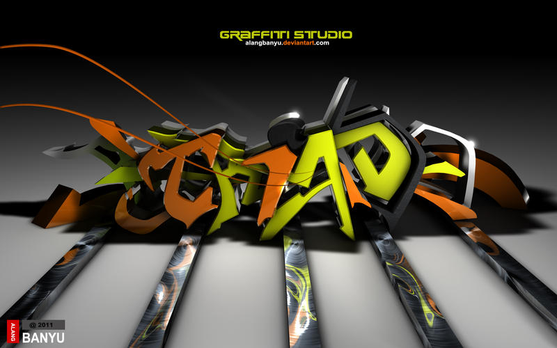 TRIAD graffiti by alangbanyu