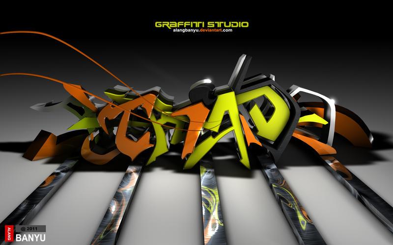TRIAD graffiti by alangbanyu