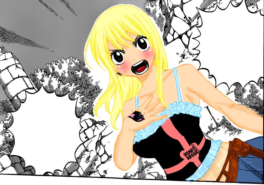 Lucy Heartfilia Lineart : Lucy heartfilia by chiini on deviantart