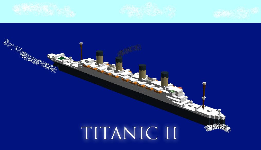 Rms Titanic Ii By Westrail642fan On Deviantart