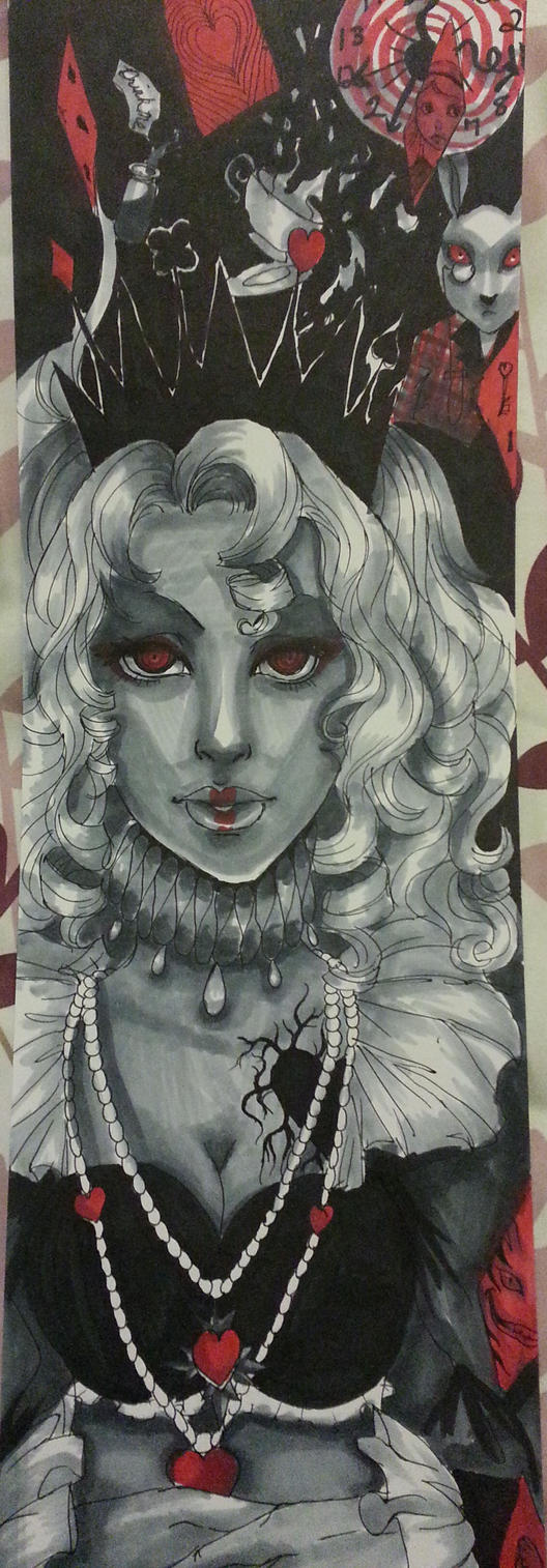 Queen of Hearts by 2PurpleFish
