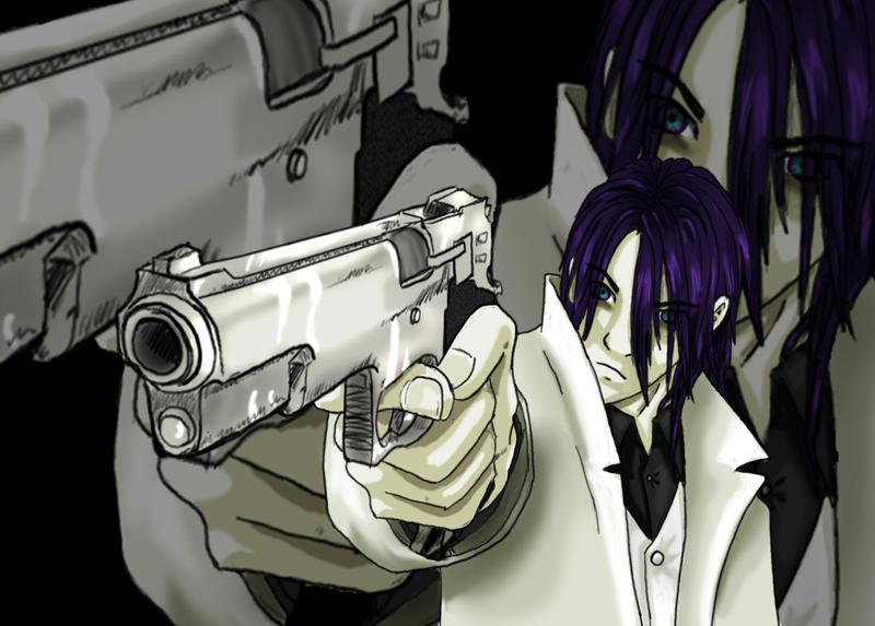 Gun Man by godofthewaffles0