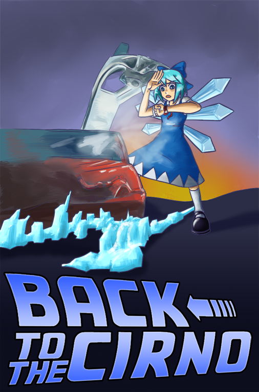 CIRNO DAY 2011 goes to 1985 by sindaran-ainu